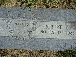 Robert Zelmath Bob Cox