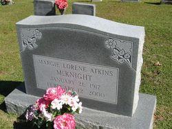 Margie Lorene <i>Atkins</i> McKnight