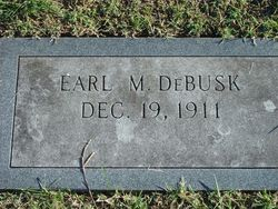 Earl Manuel DeBusk