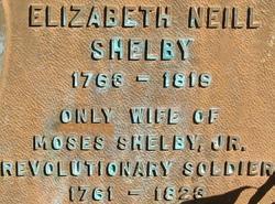 Elizabeth <i>Neel</i> Shelby