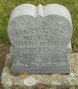 Mary <i>Dollison</i> Cree