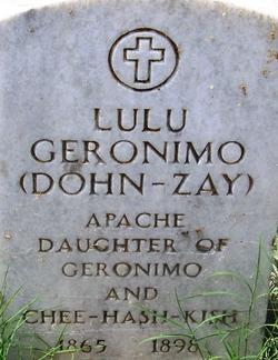 Lulu Dohn-zay Geronimo