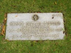 Henry Oliver Hansen