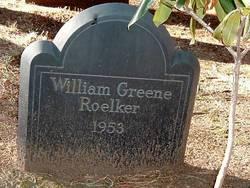 William Greene Roelker