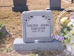 Virginia <i>Adams</i> Templeton