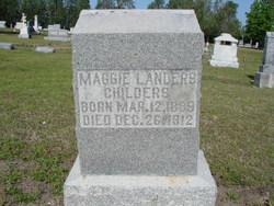 Maggie <i>Landers</i> Childers
