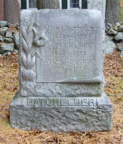 Mary A. <i>Berry</i> Batchelder