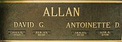 David G Allan