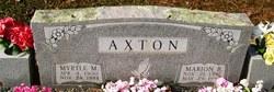 Myrtle M. <i>Davis</i> Axton