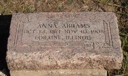 Anna <i>Ward</i> Abrams