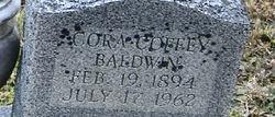 Cora <i>Coffey</i> Baldwin