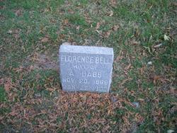 Florence <i>Bell</i> Babb