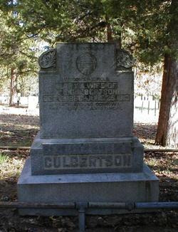 Mary Ann <i>Norman</i> Culbertson