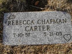 Rebecca <i>Chapman</i> Carter