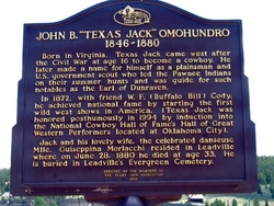 John Baker Texas Jack Omohundro