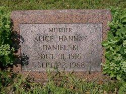 Alice Marie <i>Hannay</i> Danielski