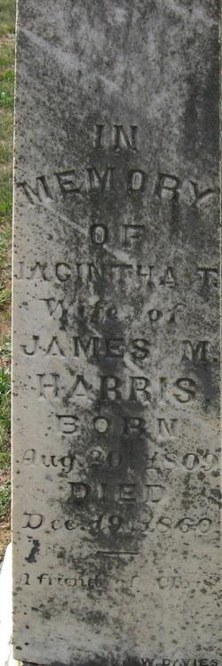 Jacintha Tazwell <i>Rodes</i> Harris