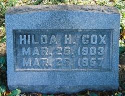 Hilda Helen <i>Hopkins</i> Cox