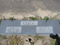 Bessie E <i>Ellis</i> Click