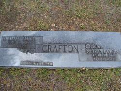 Bertha <i>Landers</i> Crafton