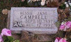Bessie Jane Campbell