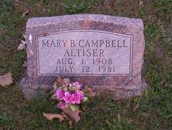 Mary Belle <i>Campbell</i> Altiser