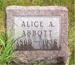 Alice Amanda <i>Bevens</i> Abbott