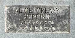 Alice Creasy Herring