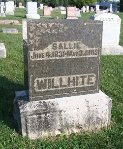 Sallie <i>Cosner</i> Willhite