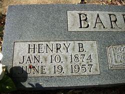 Henry Basil Barrow