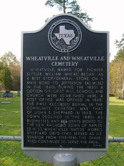 Wheatville Cemetery
