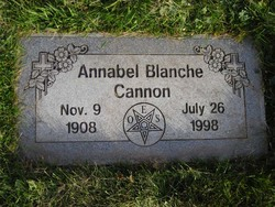 Annabel Blanche Cannon