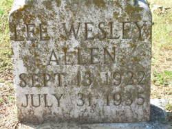 Lee Wesley Allen