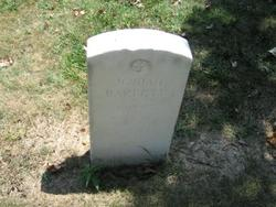 Private Josiah Barrett