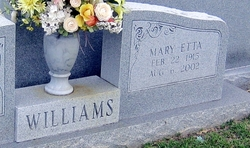 Mary Etta Williams
