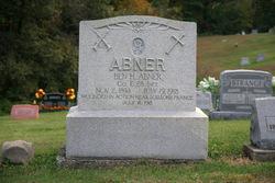 Pvt Benjamin Harrison Abner