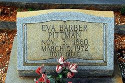 Eva <i>Barber</i> Pittman