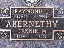 Jennie M. <i>Lind</i> Abernethy