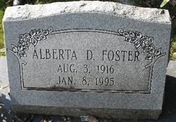 Alberta <i>Dubberly</i> Foster