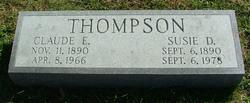 Susie D. <i>Vincent</i> Thompson