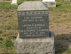 Louisa E. <i>Eckman</i> Arnold