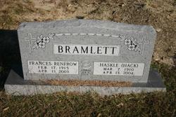 Frances <i>Renfrow</i> Bramlett