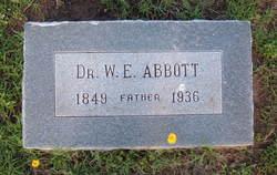 Dr William Elliott Abbott