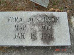 Vera <i>Bazemore</i> Ackerson