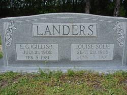 Eugene Gillum Gill Landers, Sr