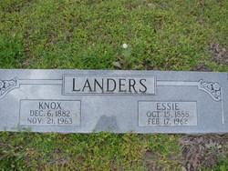 Essie <i>Childers</i> Landers