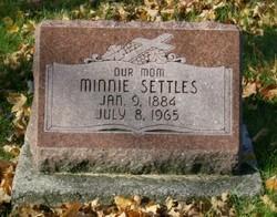 Minnie <i>Schrougham</i> Settles