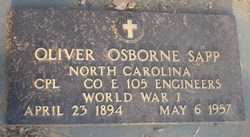 Oliver Osborne Sapp