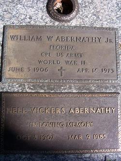 Nell <i>Vickers</i> Abernathy