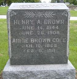Annie <i>Cole</i> Brown
